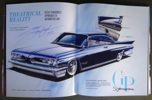 """Got this great image and comment from Rodders Journal to point out how rare this is!!! =D """"We spent the weekend in The Rodder's Journal booth with legendary automotive artist Steve Stanford, and while he was there he signed a very limited number of copies of TRJ #63, which features 16 pages of his brand new artwork. You can order a signed copy by calling us within the U.S. at (800) 750-9550 or (877) 479-2627 in Canada, but you've got to act fast because once the signed copies are gone, they're gone."""""""