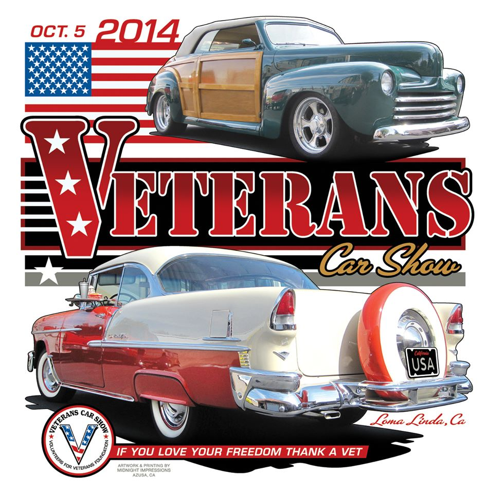 Volunteers For Veterans Foundation Car Show