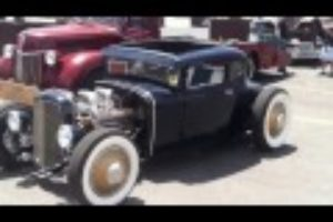 Wickedly Whacked Model A 5 Window Coupe!! =D