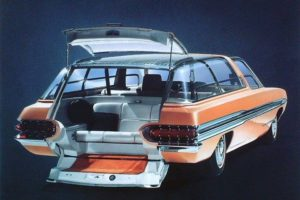Rick Millington found a video of the 1964 Ford Aurora concept wagon!! =D
