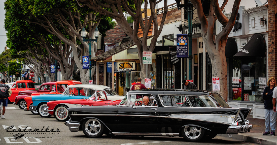 Seal Beach Classic Car Show Video =D