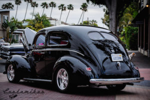 Fat Fender'd 40 Ford in Henry's favorite color at Seal Beach Classic Car Show =D