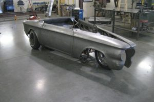 More on the incredible 1964 Corvair Trike build by Tin Elements!!!