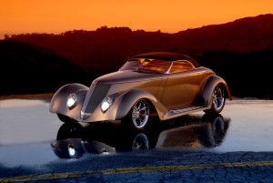 Shot by Peter Linney. See more here: http://autofocus.net/KenRiddlercar.htm