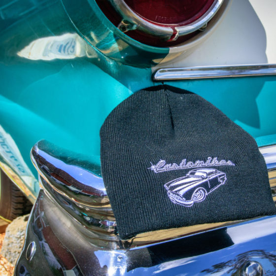 Customikes, hats, beanies, for sale, swag, baseball hat, 1957, Ford, Sunliner, Retractable