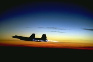 SR-71 Blackbird Pilots Troll Navy Pilot and Civilian Aircraft With Ground Speed Check – Breed of Speed