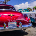 50 Oldsmobile kustom rod, 1956 Chevrolet convertible, Seal Beach Classic Car Show 2016, K. Mikael Wallin
