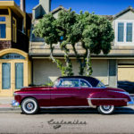 oldsmobile, rocket 88, profile, white walls, seal beach show