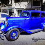 1932, ford, sedan, street rod, wire wheels, vivid blue, running boards, traditional, Old school, kustom,