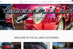 Welcome to Customikes Fresh New Website!!
