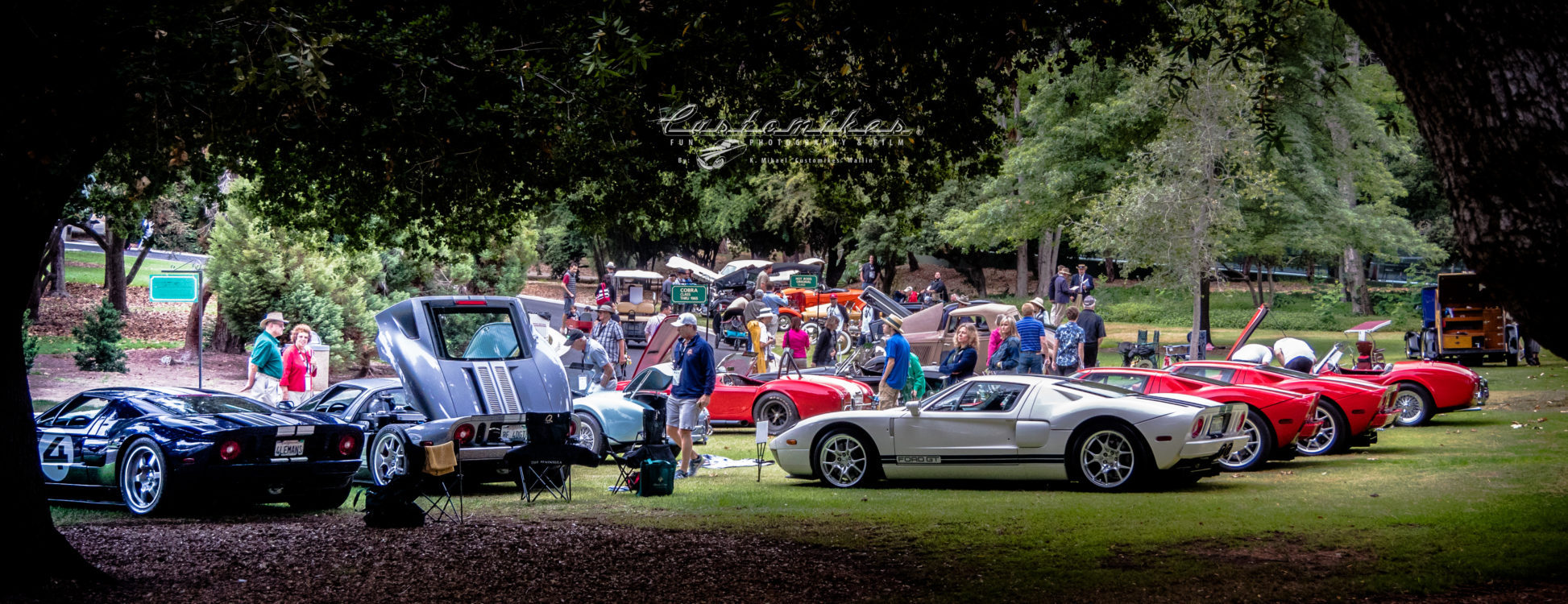 GT_40, ford, ac bristol, ac cobra, shelby, ford SVO, svo, outstanding, group of GT-40's, classic, SMMC, Lacy Park, San Marino Motor Classic