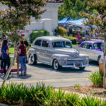 Church, car show, july, 4th, 2016, fire truck, breakfast, ford, trees, landscaping, flowers