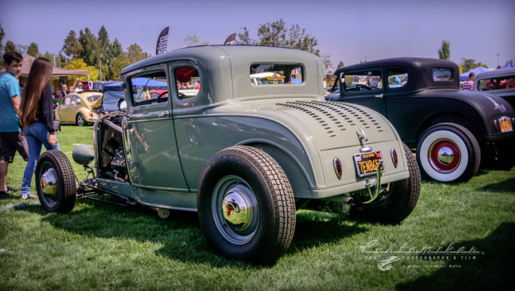 high boy, chopped, Understated, 32, 5 window, 1932, ford, coupe, louvered,