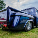 Chevrolet,pick up, truck, fat tires, slicks,blue sky, park, deep blue , nsra, pro street