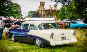 1956, 56, chevy, chevrolet, old warden, NSRA UK, prostrate, Customikes