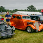Morris woodie, blown, nsra, hotrods