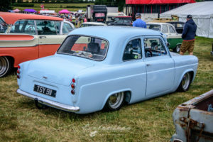 Anglia, ford, slammed, english, baby blue, pro street,
