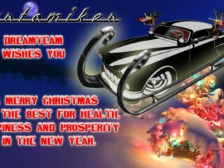 christmas mercury sleigh santa customikes